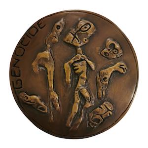 1_Natural-Disaster-Medallion-back-view-bronze