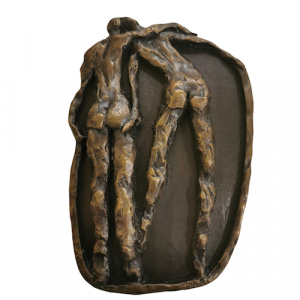 The-Couple-Medallion-with-bkgd-liver-bronze