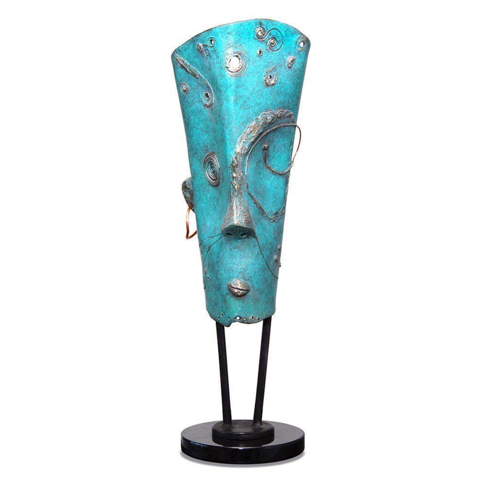 Creative Mind Sculpture in Bronze
