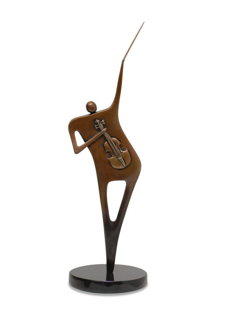 The Viola- Bronze Sculpture