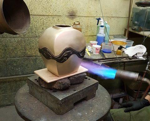finishing sculpture